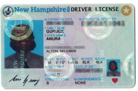 Real ID Compliant Drivers Licenses